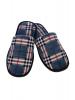 Тапочки мужские с закрытым носком велюр